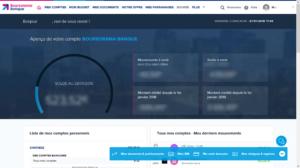 parrainage boursorama banque interface